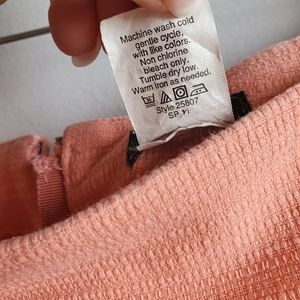 J. Crew Factory Skirts - J Crew Factory Preppy Textured Cotton Mini Skirt